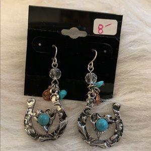 Heart/Horseshoe Earrings